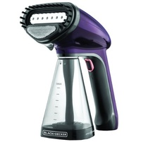 BLACK&DECKER Garment Steamer HST1500-B5 1200 Watt Purple
