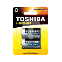 Toshiba Blue Battery Alkaline C2