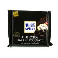 Ritter Sport Fine Extra Dark Chocolate 100g