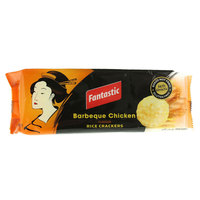 Fantastic Barbeque Chicken flavor Rice Crackers 100g