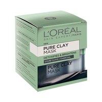 L'Oreal Paris Pure Clay Detox Black Mask with Charcoal 50ML + Spatula
