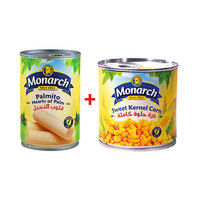 Monarch Palmito 400GR + Corn 400GR Free