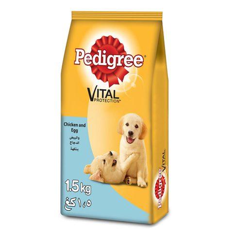 PEDIGREE®-Chicken-&-Eggs-Dry-Dog-Food-Adult-1.5-Kg