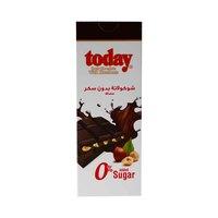 تودي شوكولاتة داكنة بالبندق خالية من السكر 65 غرام