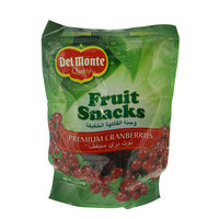Del Monte Fruit Snacks Premium Cranberries 170g