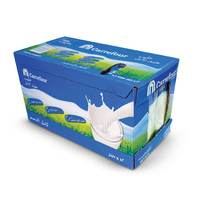 Carrefour long life milk 1 L x 12