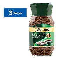 Jacobs Monarch Premium Coffee 95g x3