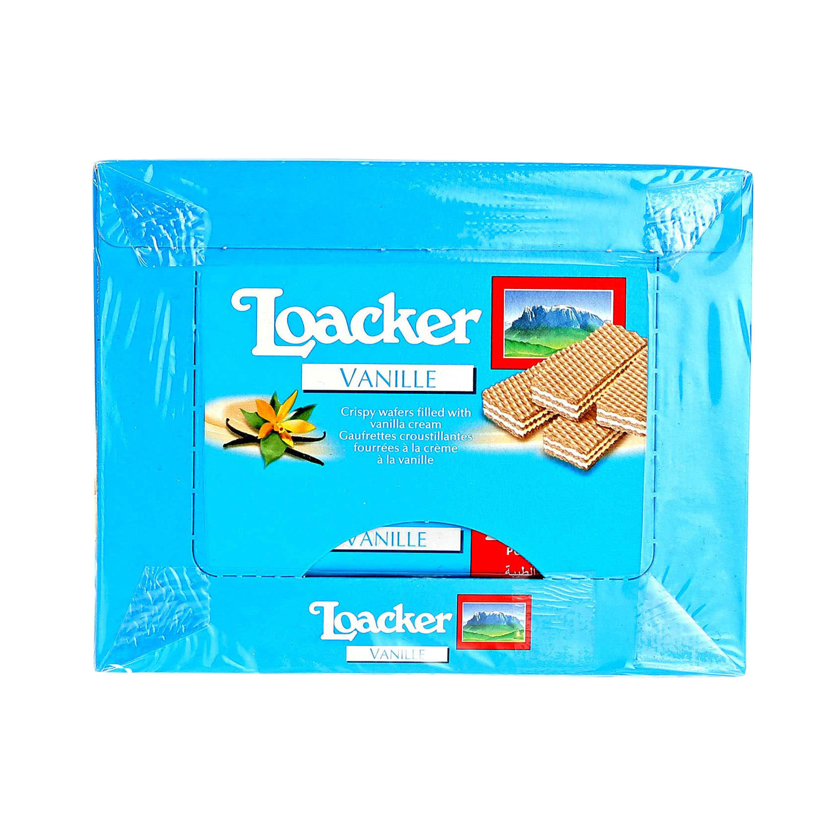 LOACKER VANILLA CREAM FILLED45GRX25