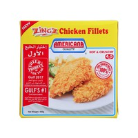 Americana Zingz Chicken Fillets Hot & Crunchy 420g