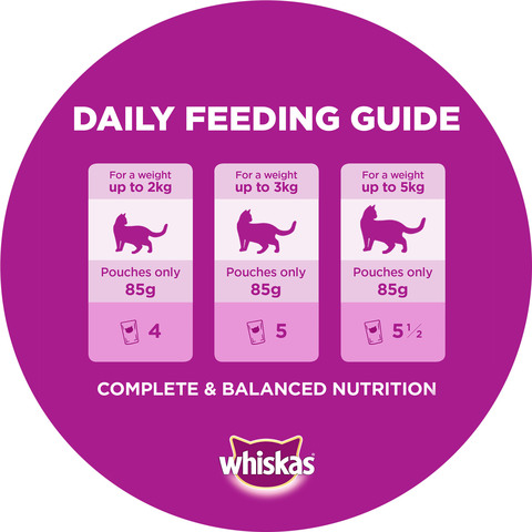 WHISKAS®-Tender-Bites®-Chicken-in-Gravy-Wet-Cat-Food-Pouch-85g