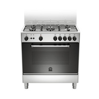 LA Germania Gas Cooker AM85C31DX  80X50 Cm Full Safety Stainless Steel