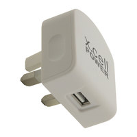 Xcell Home Charger 2.1A MFI White