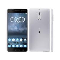 Nokia  6 Smartphone Dual Sim 4G Silver White