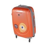 باسيفيك حقيبة سفر خامة صلبة 4 عجلات مقاس 27 انش لون برتقالي
