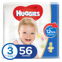 Huggies Super Flex Diaper Medium Size 3 56 Diapers
