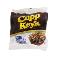 Cupp Keyk Nutty Choco Cupcake with peanut Toppings 34g x10