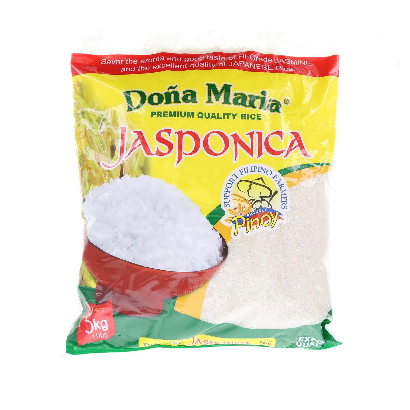 DONA MARIA JASPONICA RICE 5KG
