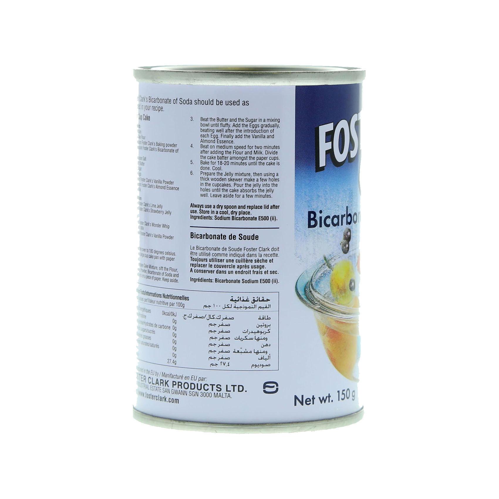 FOSTER CLARK BICORBONATE SODA 150GR