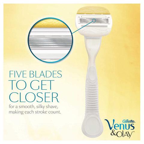 Gillette-Venus-&-Olay-women's-razor,-1-count