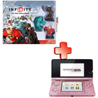 Nintendo 3DS Console Nintendo Dogs +Disney Infinity Starter Pack