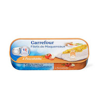 Carrefour Filets De Maquereaux A L''escabeche 169GR