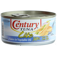 Century Tuna Lite Flakes in Vegetable Oil 180g