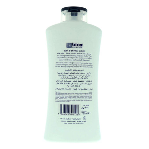 Bio-Skincare-Aloe-Vera-Bath-&-Shower-Creme-750ml