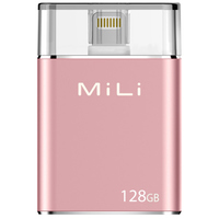 MiLi Smart Flash Drive 128GB Rose Gold