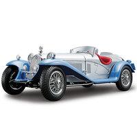 Bburago 1932 Alfa Romeo 8C 2300 Spider Touring Blue 1/18 Scale Diecast Car Model
