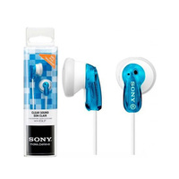 Sony Earphone MDRE9 Blue