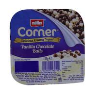Muller Corner Vanilla Chocolate Balls Yogurt 135g