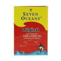 Seven Oceans Original Cod-Liver Oil 100 Capsules