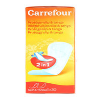 Carrefour Pads Slip & Tanga Panty Liners 30's