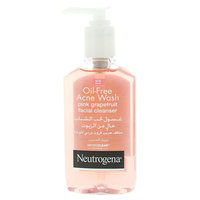 Neutrogena Pink Grapefruit Oil Free Acne Wash Facial Cleanser 177ml