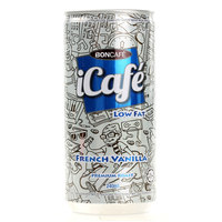Boncafe iCafe Low Fat French Vanilla 240ml