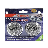 Gamex Scourer Stainless Steel X2