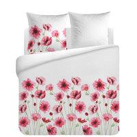 Single Quilt Cover Set 3 Pcs Soft Poppies