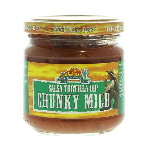Cantina-Mexicana-Salsa-Tortilla-Dip-Chunky-Mild-190g