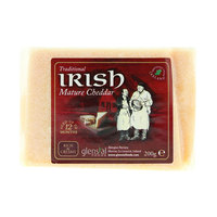 Glensal Irish Mature Coloured Cheddar 200g