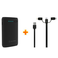 Cellairis Power Bank 7200mAh+ 3IN1 Cable