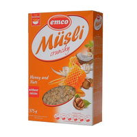 Emco Muesli Crunchy Honey & Nuts 375g