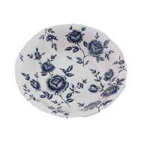 Claytan Rose Salad Bowl 23.7 Cm Blue
