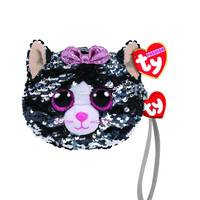 Ty Fashion Kiki Cat Sequin Wristlet