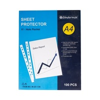 Binder Max Files Protector Sheet A4 100 Pieces