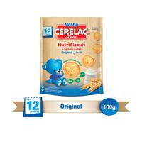 Nestle Cerelac Nutri Biscuit Original 180 g