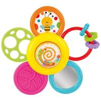 WinFun Spinning Daisy Rattle 'N Teether