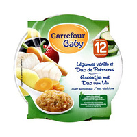 Carrefour Baby Duo Fish And Vegetable 230g
