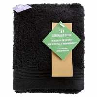 TEX Hand Towel x2 30x50 Black