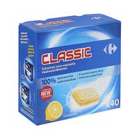 Carrefour Tablettes Lave Vaisselle Citron 10GR X40