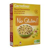 Carrefour Gluten Free Muesli With Fruit 500 Gram